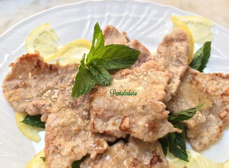 Scaloppine a limone arrosto