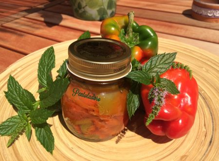Peperoni in agrodolce – conserva