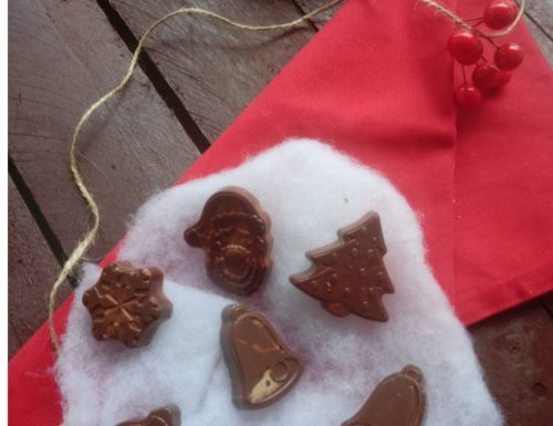 Cioccolatini al latte idea regalo
