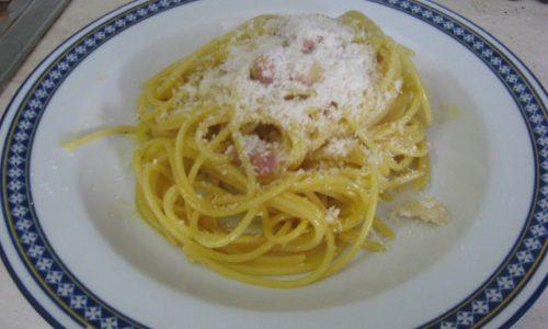 spaghetti alla carbonara di Mauro