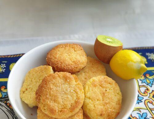Limoncini, biscotti al profumo di limone e zenzero