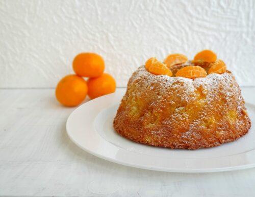 Pan Mandarin torta soffice con mandarini e yogurt