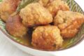 Polpette di pollo a limone e basilico