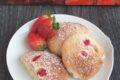 Biscotti fragola e limone senza glutine e lattosio