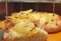 Focaccia bianca alta e croccante patate, cipolla e rosmarino con 3 gr di lievito.