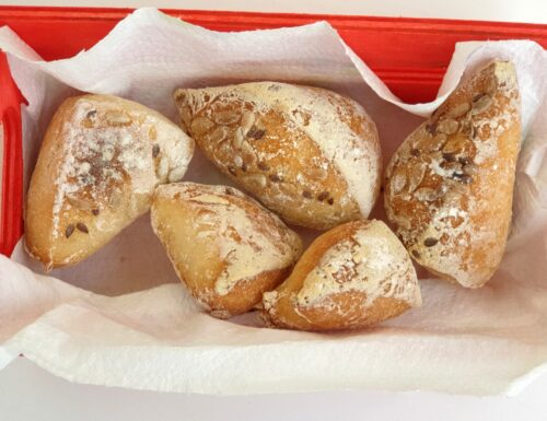 Tocchetti di pane ai semi mono porzione senza glutine