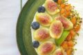 Cheesecake ai fichi e albicocche
