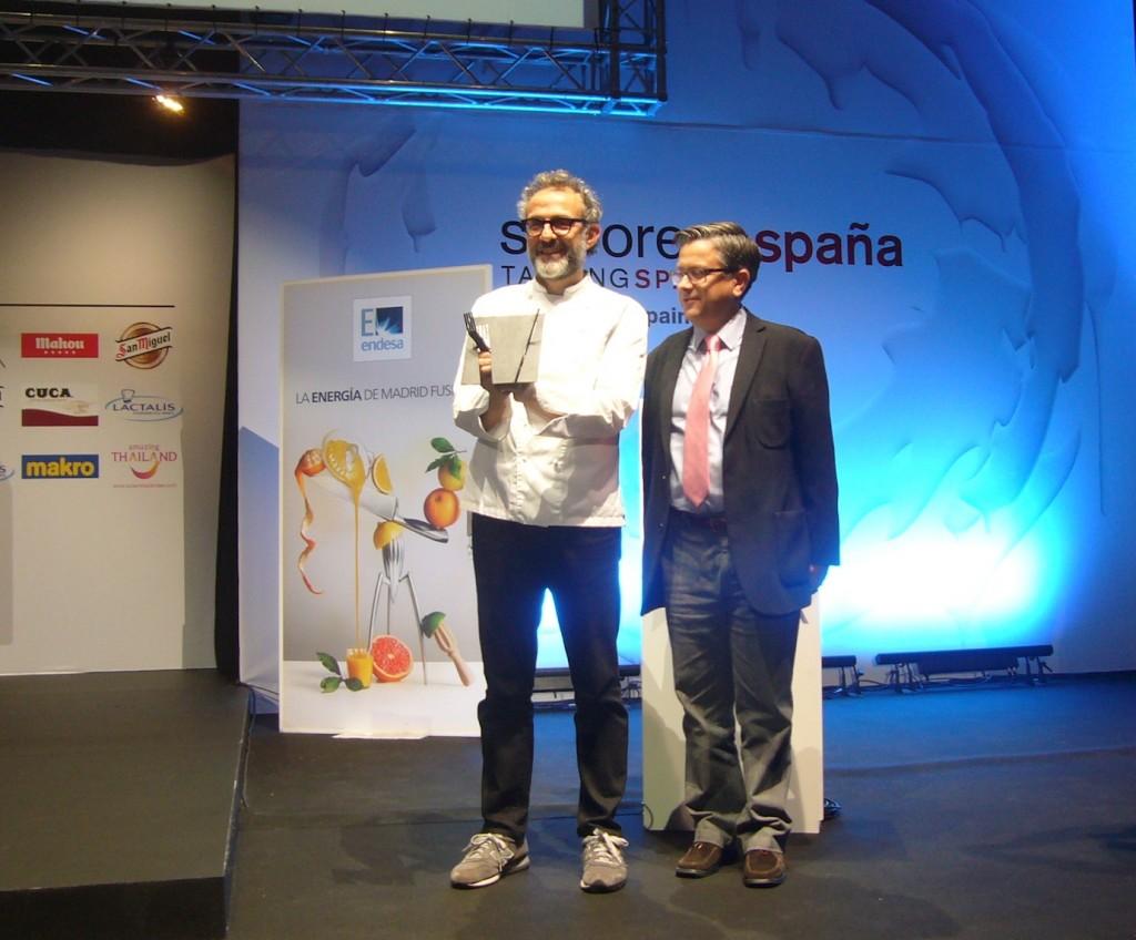Massimo Bottura Cuoco dell'anno europeo 2015