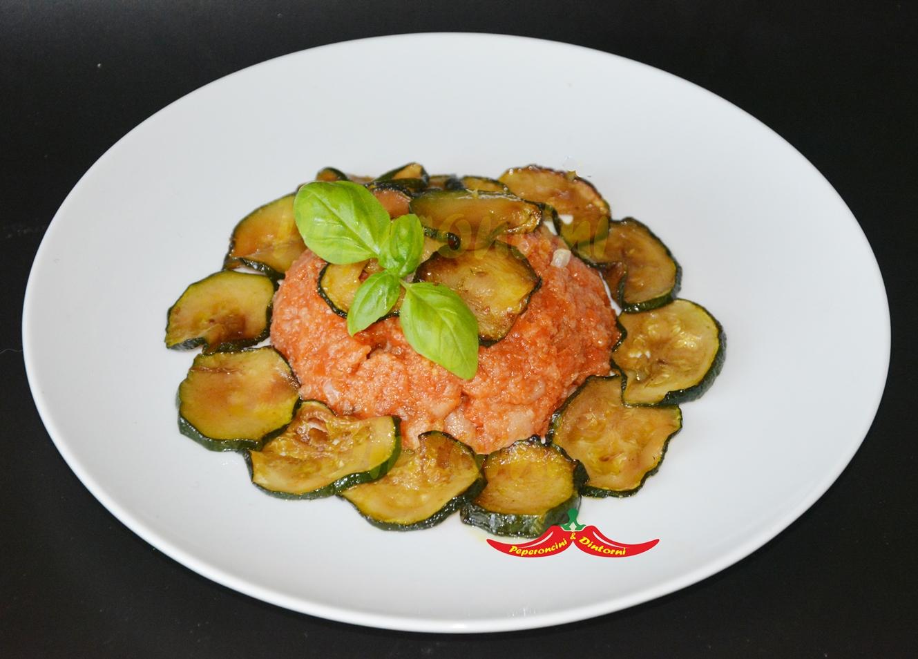 Pappa Al Pomodoro e Zucchine trifolate