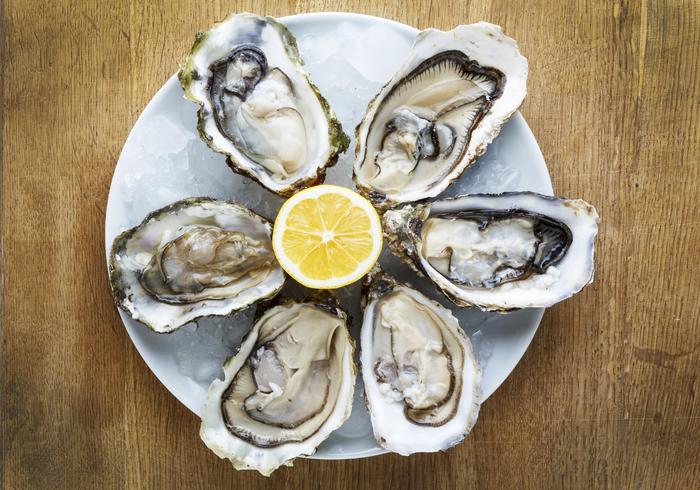 Lunga vita a salumi, pesto e ostriche, con alta pressione