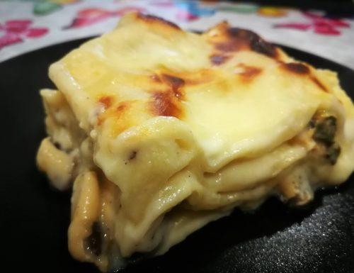 Lasagna all'impepata di cozze
