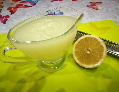 Gelatina al limone