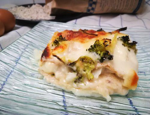 Lasagne integrali con broccolo e cavolfiore