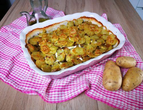 Tiella patate e funghi