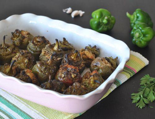 Peperoni ripieni alla cretese