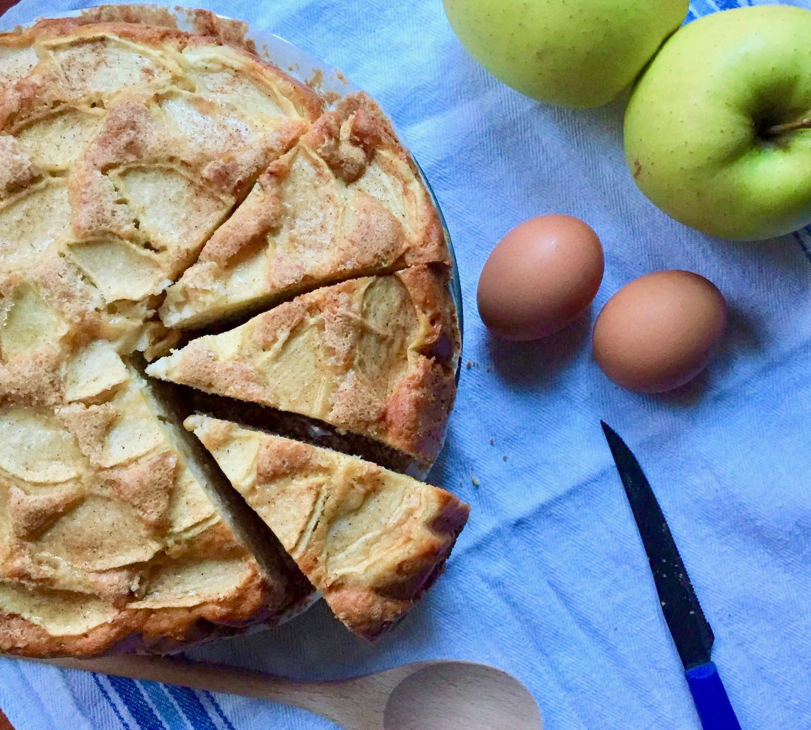 Torta di mele (senza burro)