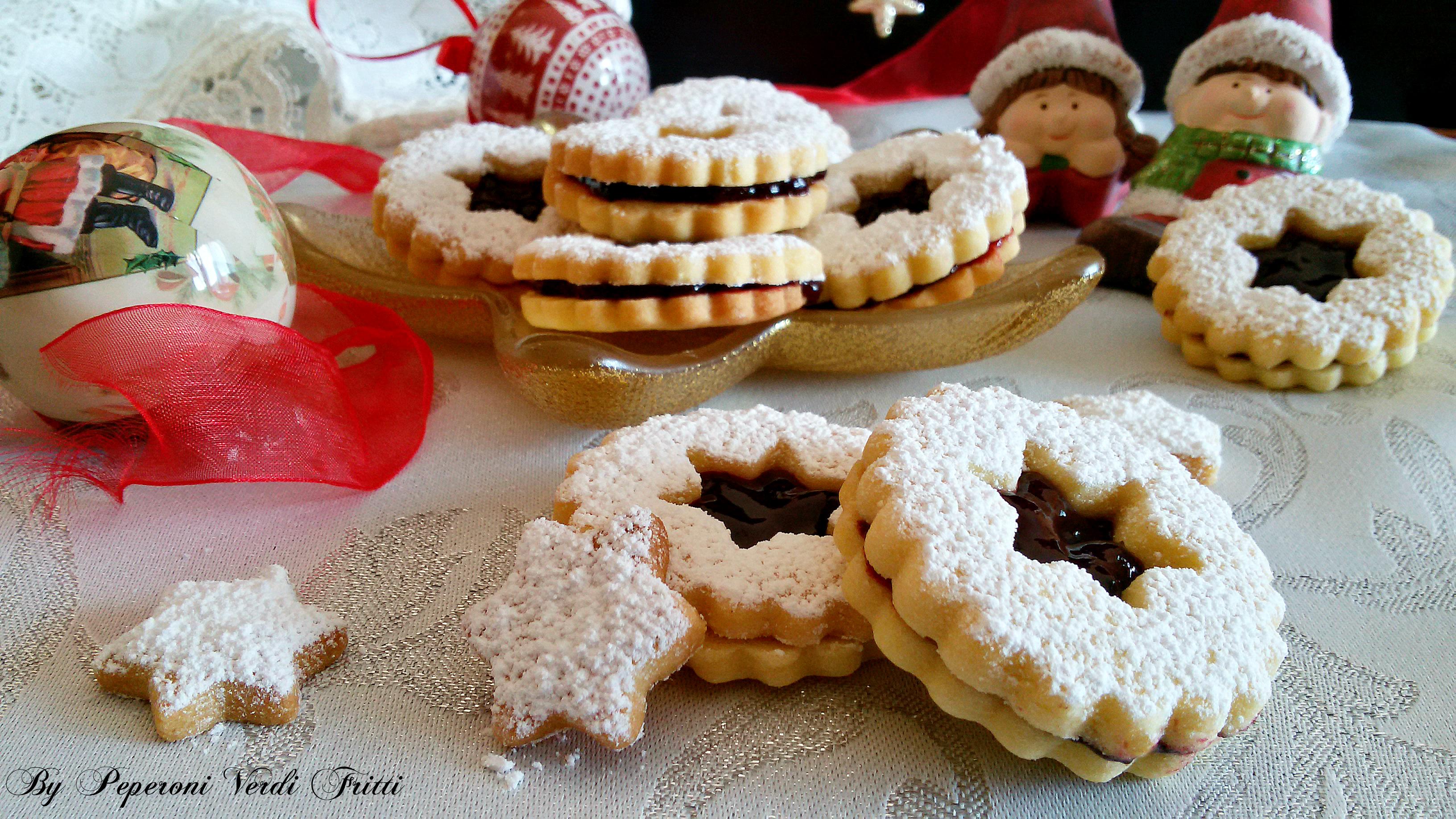 Biscotti Di Natale Tirolesi.Spitzbuben Biscotti Di Natale Dell Alto Adige