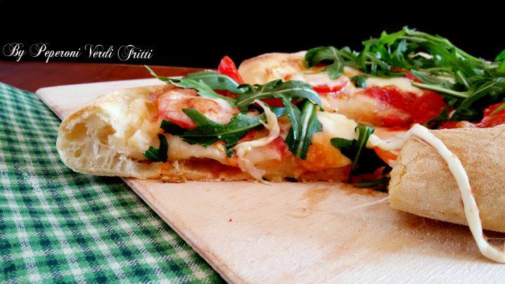 Pizza con 2 grammi di lievito e autolisi