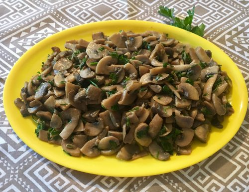 Funghi trifolati
