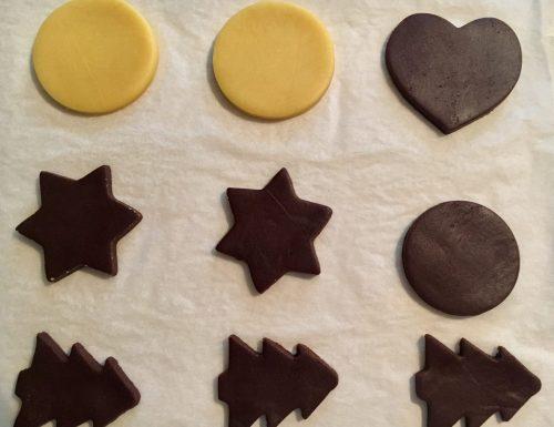 Pasta frolla al cacao per biscotti