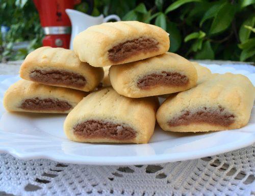 Biscotti nascondini fatti in casa