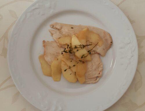 Fettine di pollo alle mele