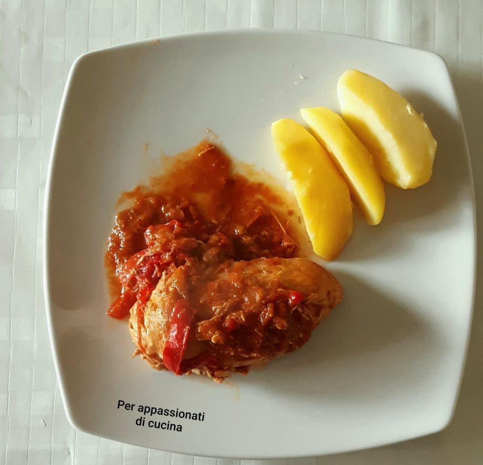 gulash di pollo ungherese