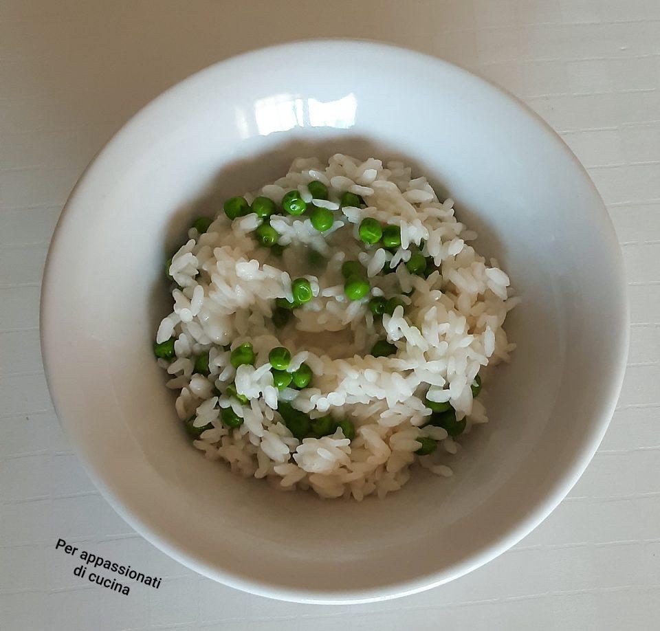 riso e piselli
