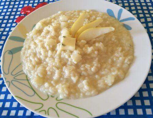 Un classico tra i risotti gourmet: Il Risotto gorgonzola e pere