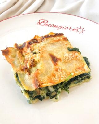 Lasagna vegetariana di farro