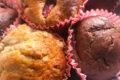 Muffins integrali avena e fragole