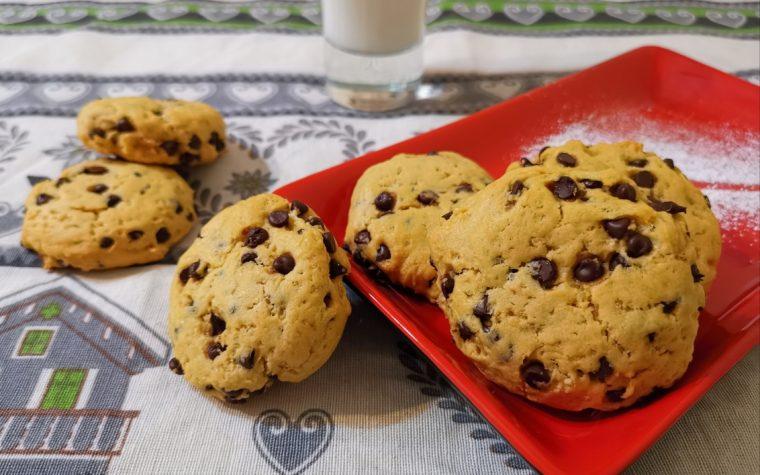 Biscotti alla zucca , senza burro latte e uova