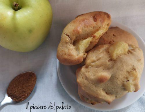 Biscotti di mele al cucchiaio,soffici
