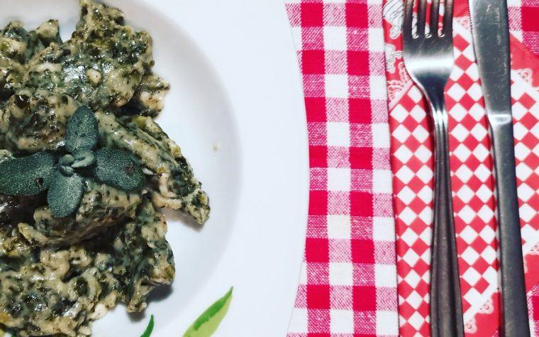 Gnocchi verdi al cucchiaio
