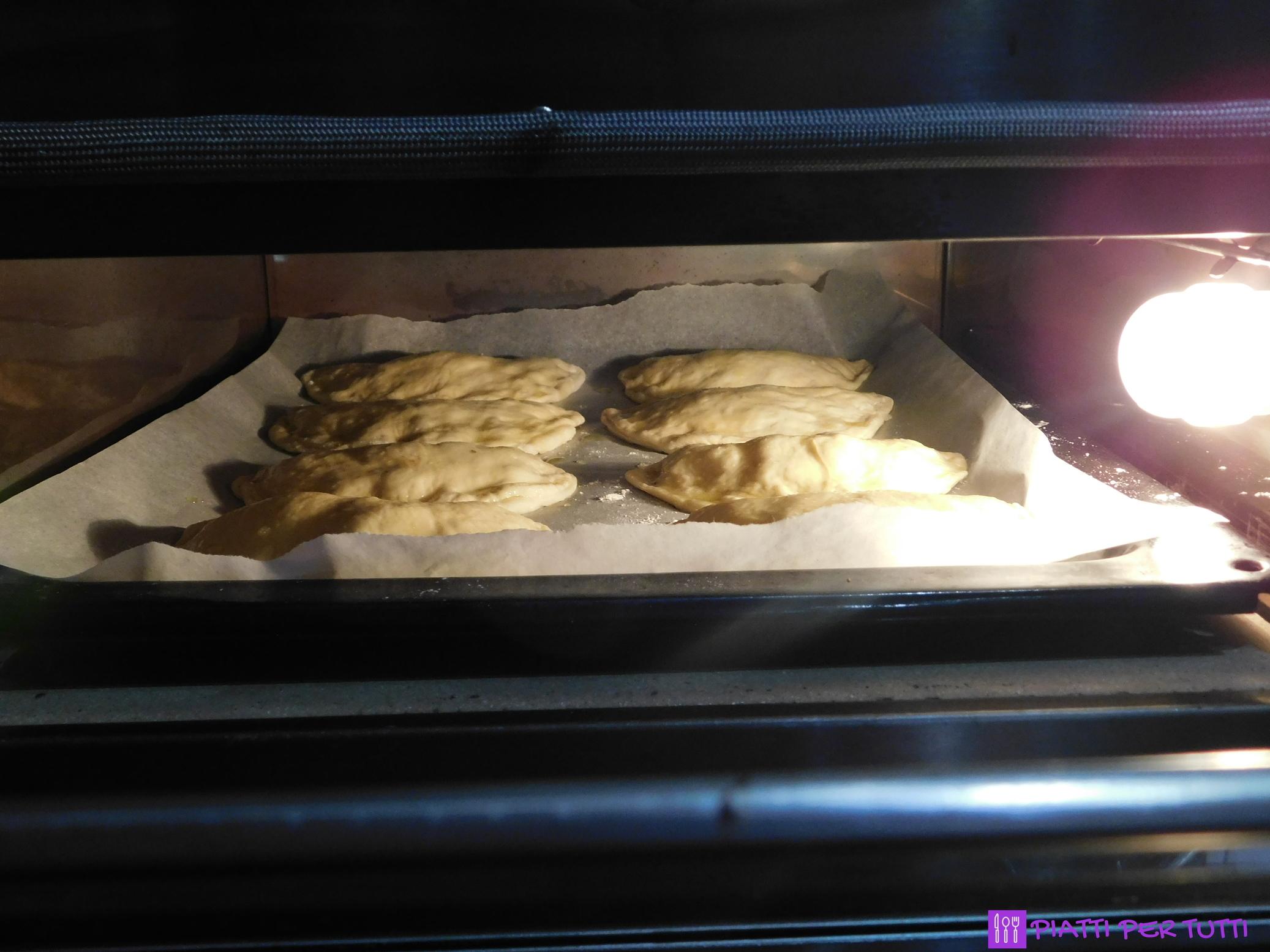 Panzerotti al forno