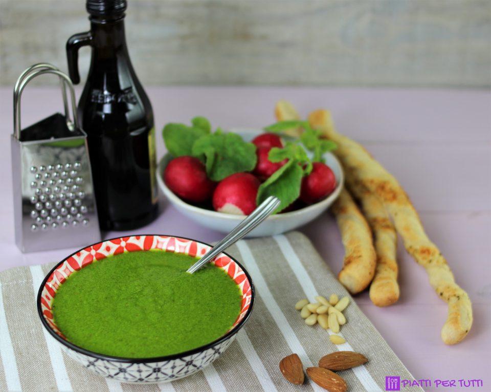 Pesto ricetta