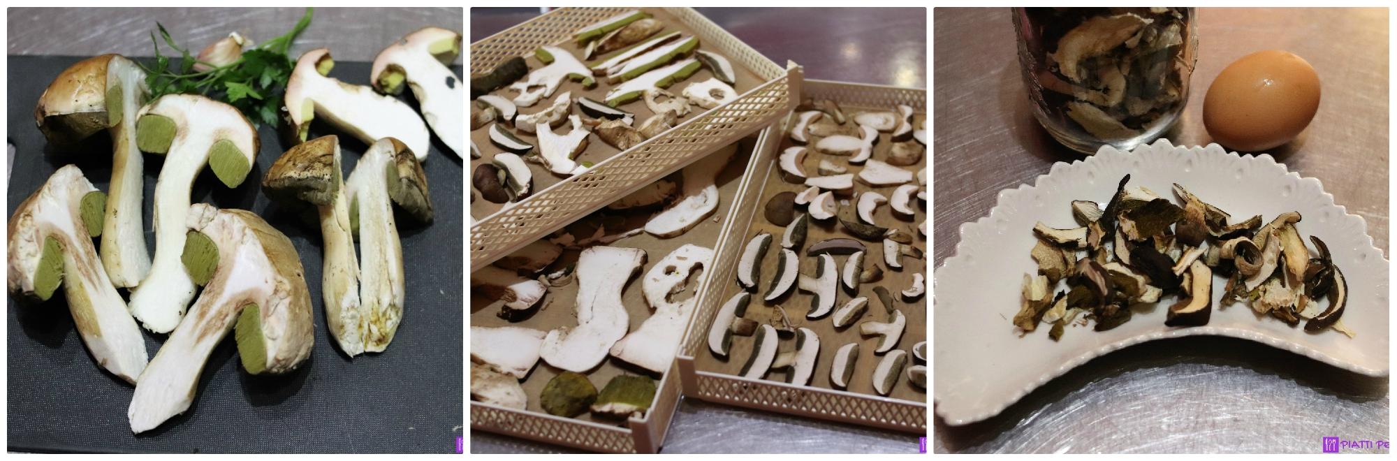 Tagliatelle con funghi