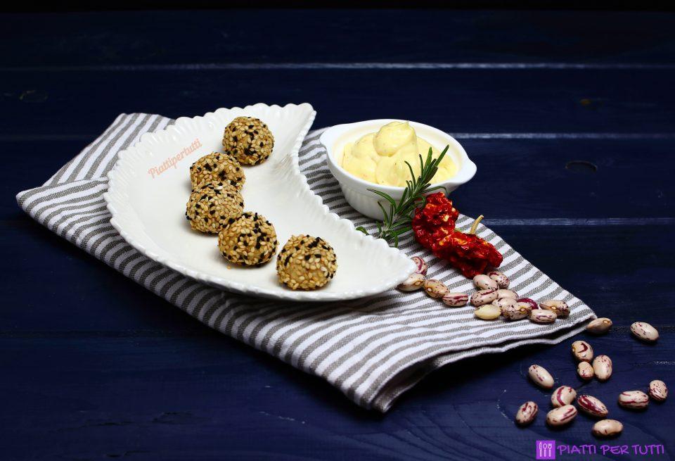 Polpette di fagioli al rosmarino