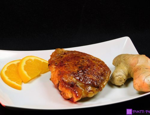 Pollo alla giapponese