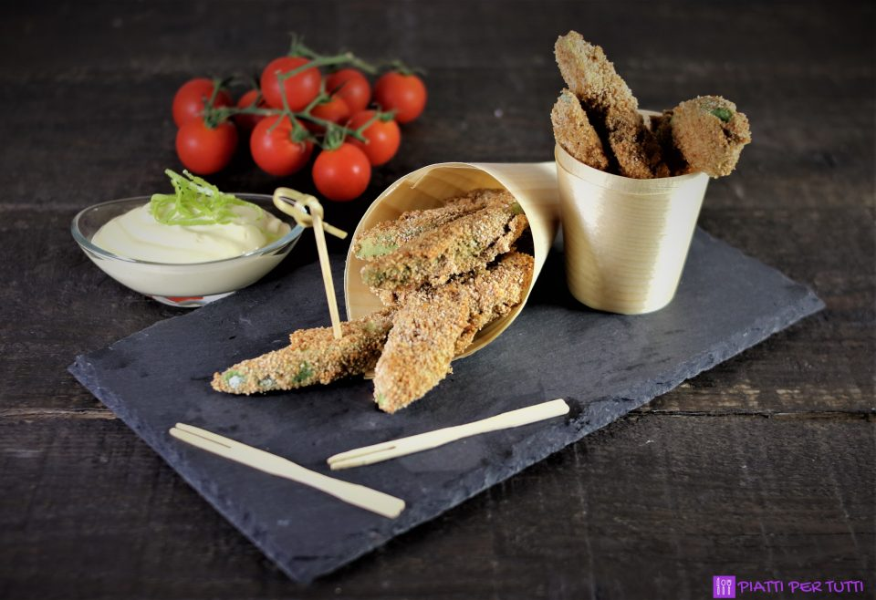 Chips di avocado