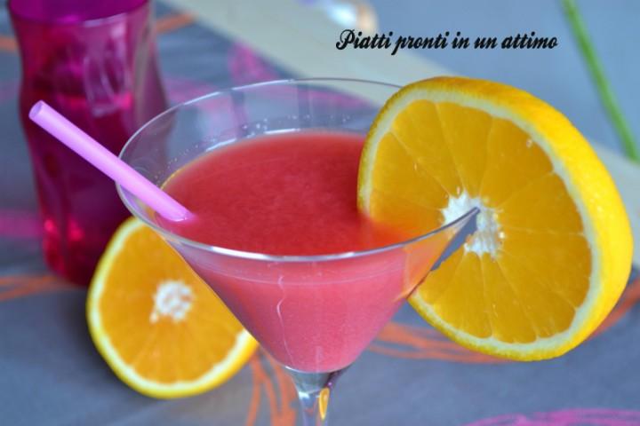 cocktail melagrano arancia