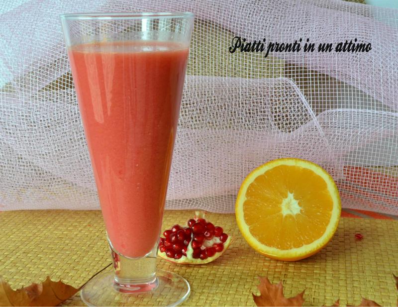 succo melagrano arancia