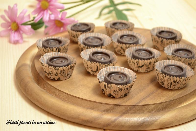 Cioccolatini con cuore di marmellata - PIATTI PRONTI IN UN ATTIMO