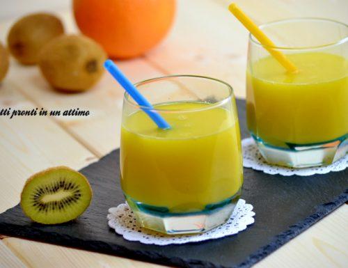 Succo kiwi ed arancia