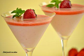 coppa yogurt e fragole