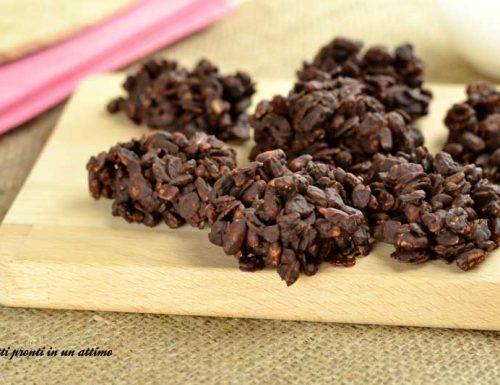 Biscotti di muesli al cioccolato