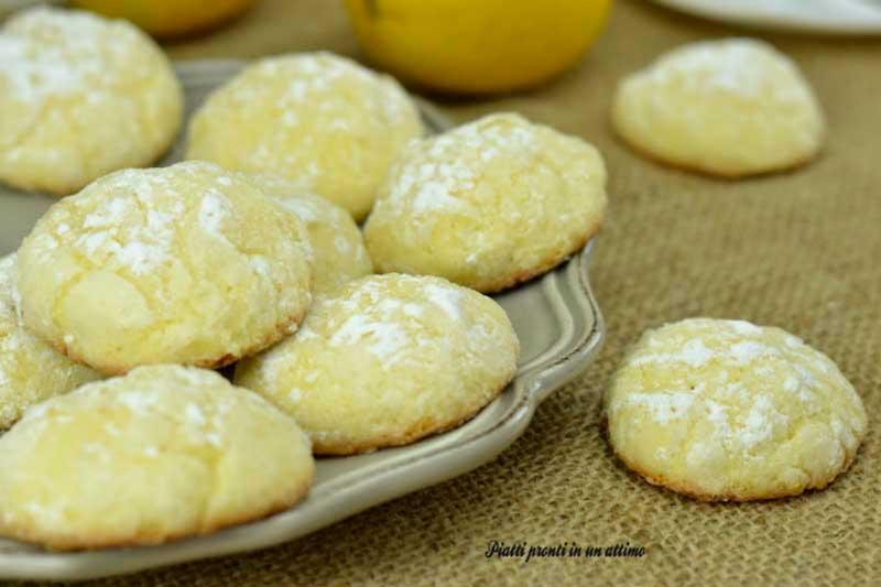 biscotti morbidissimi al limone