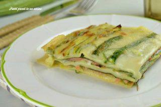 lasagne zucchine e salmone agosto