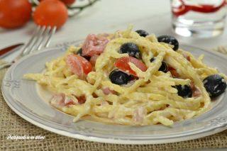 trofie con pancetta ed olive ott