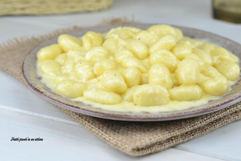 Risultati immagini per gnocchi  ai 5 formaggi